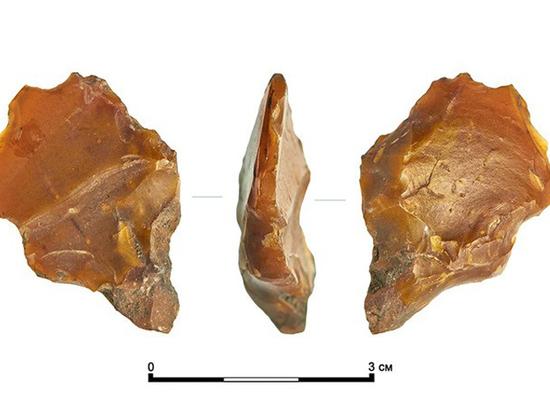 В центре Москвы найдены артефакты каменного века