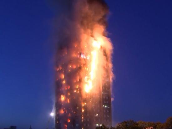 Пожар в Лондоне: строители сэкономили на человеческих жизнях