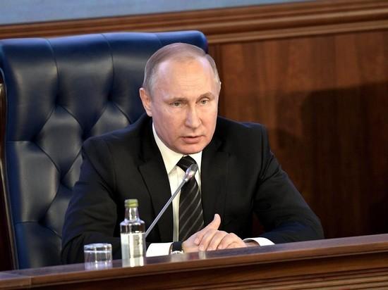 Путин снял с должностей высокопоставленных силовиков