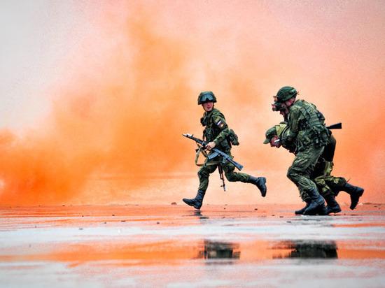 «Тигр» против террористов: военные сыграли в «Дорожный патруль»