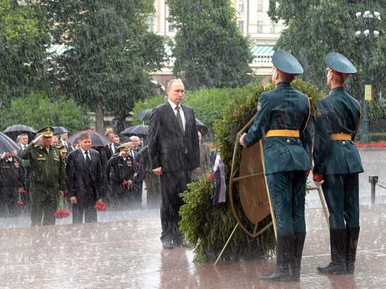 """""""Мокрое"""" дело: почему над Путиным не раскрылся зонт"""