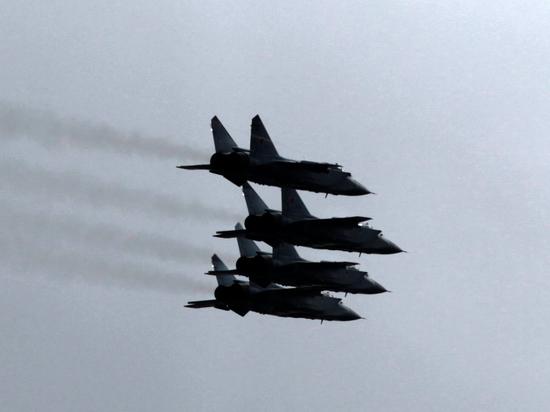 Российские истребители 14 раз перехватили иностранные самолеты-разведчики за неделю