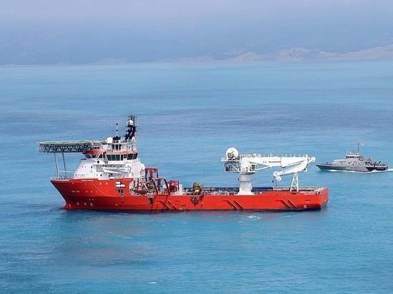 Путин с самого большого судна в мире запустил «Турецкий поток»
