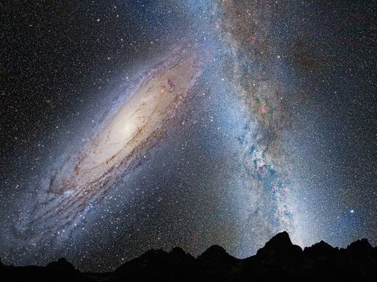 Ученые: Млечный Путь разорвет оба Магеллановых Облака