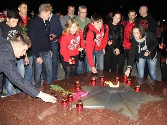 На Сахалине прошла акция «Свеча памяти»