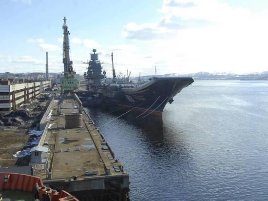 ВМФ Российской Федерации запланировал строительство нового авианосца