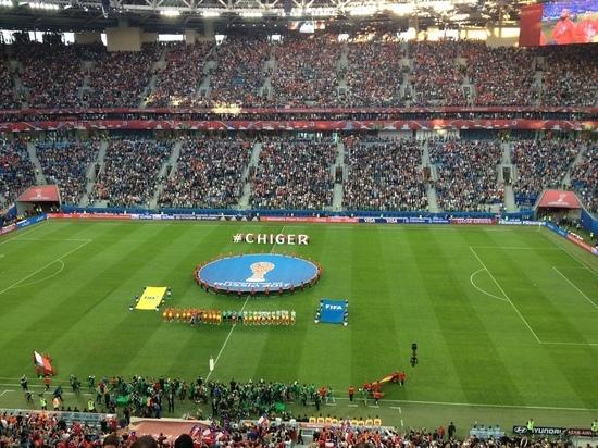 Гагарина иКрид споют назакрытии Кубка конфедераций вПетербурге