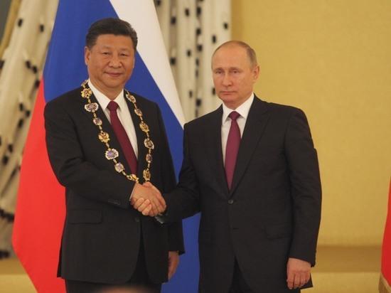 Вместе с орденом Андрея Первозванного Путин наградил Си Цзиньпина пенсией