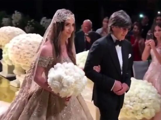 Шикарная свадьба детей российских олигархов в США потрясла мир