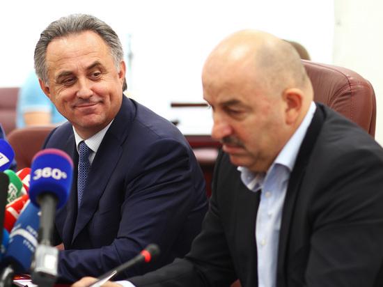 """Виталий Мутко: """"Черчесову мы доверяем, главное -у него есть команда"""""""