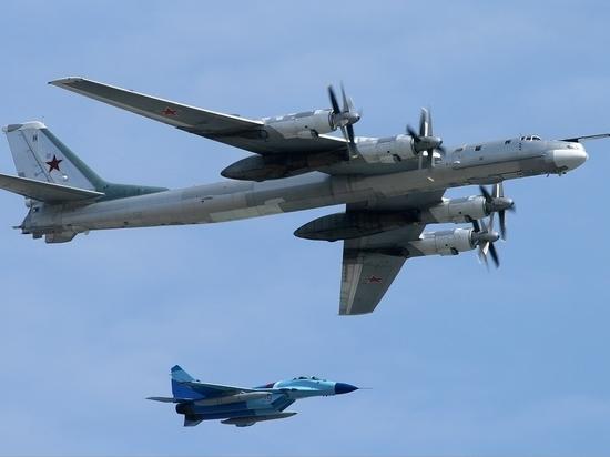 Российские Ту-95МС ударили по боевикам ИГ новейшими высокоточными ракетами