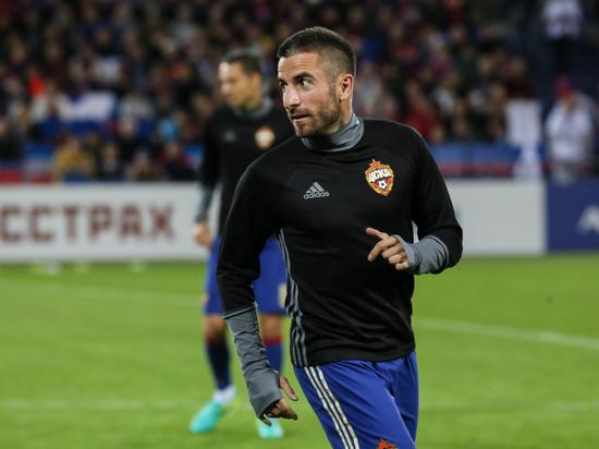 Полузащитник Зоран Тошич расторг контракт с ЦСКА