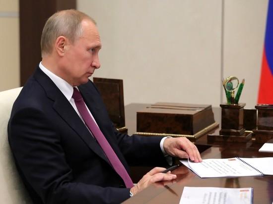Путин уволил восемь генералов МВД, ФСИН и МЧС