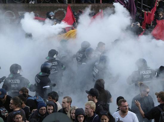 Путин попал в ад: Гамбург превратился в театр военных действий