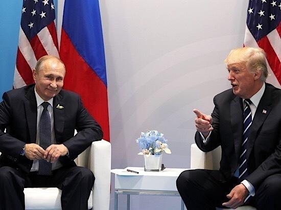 Путин оценил «реального» Трампа и Меланью: мир, дружба, жвачка
