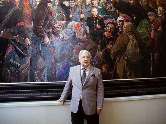 Художник Илья Глазунов умер на 88-м году жизни