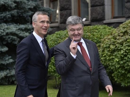 Порошенко похвастался началом процедуры вступления Украины в НАТО