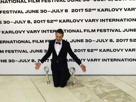 Русский артист Яценко получил приз кинофестиваля вКарловых Варах