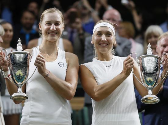 Теннисистки Веснина и Макарова выиграли Уимблдон с сухим счетом