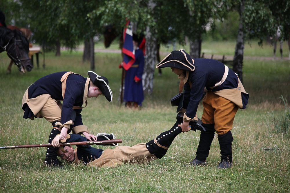 Разгромили шведов: в Челябинске оживили Полтавскую битву