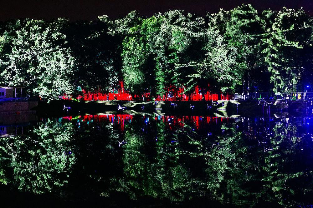 """Волшебный лес ожил: в Москве открылся фестиваль искусств """"Вдохновение"""""""