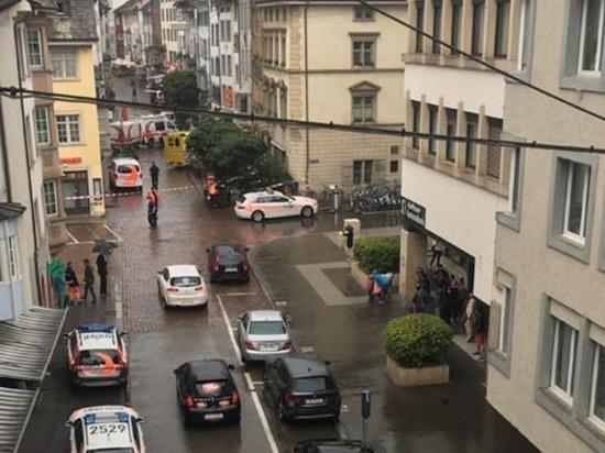 Резня бензопилой в Швейцарии: ранены пять человек