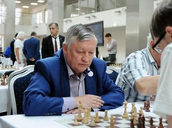 Гроссмейстеры Карякин и Инаркиев отметили день шахмат