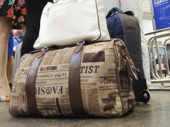Минтранс предложил авиапассажирам прятать трости и букеты в ручную кладь