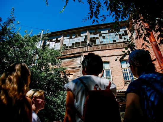 Федералы заинтересовались старыми дворами Астрахани