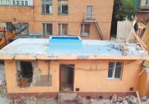 Рязановский «гараж» пошел под снос