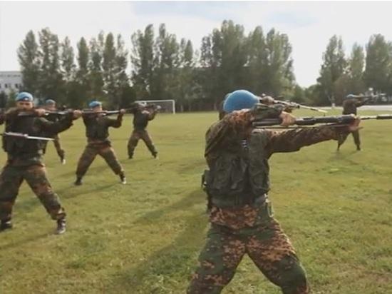 День ВДВ десантники устроят скачки на лошадях со стрельбой