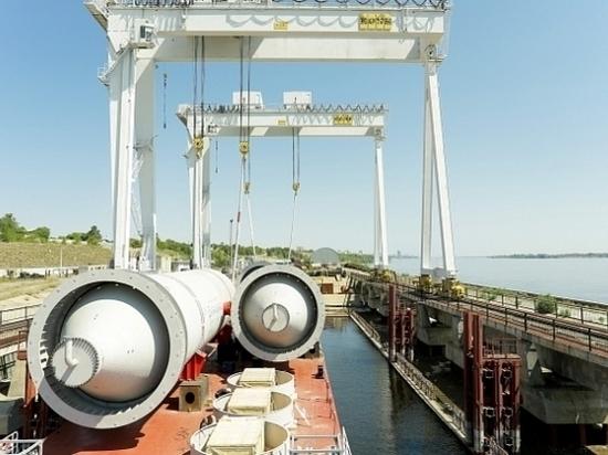 Волгоградские промышленники отгрузили уникальное оборудование для омского завода