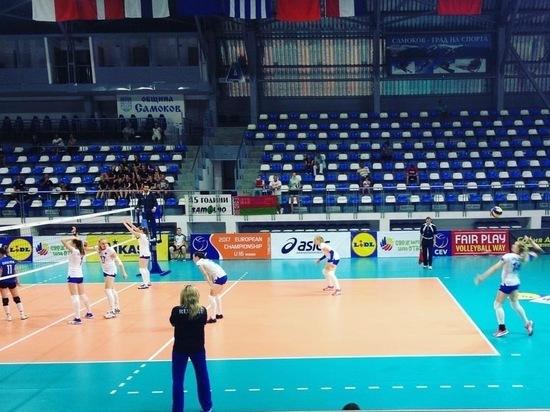 Волейбол, чемпионат Европы: как Россия обыграла Болгарию