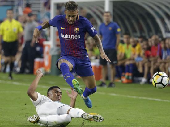 Руководство испанской футбольной лиги воспрепятствовало переходу Неймара в ПСЖ