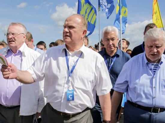 Беличьи глазки, смерть в Госдуме: политики отожгли на «Территории смыслов»