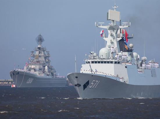 Китайские военные корабли в Петербурге стали «ночным кошмаром» Трампа