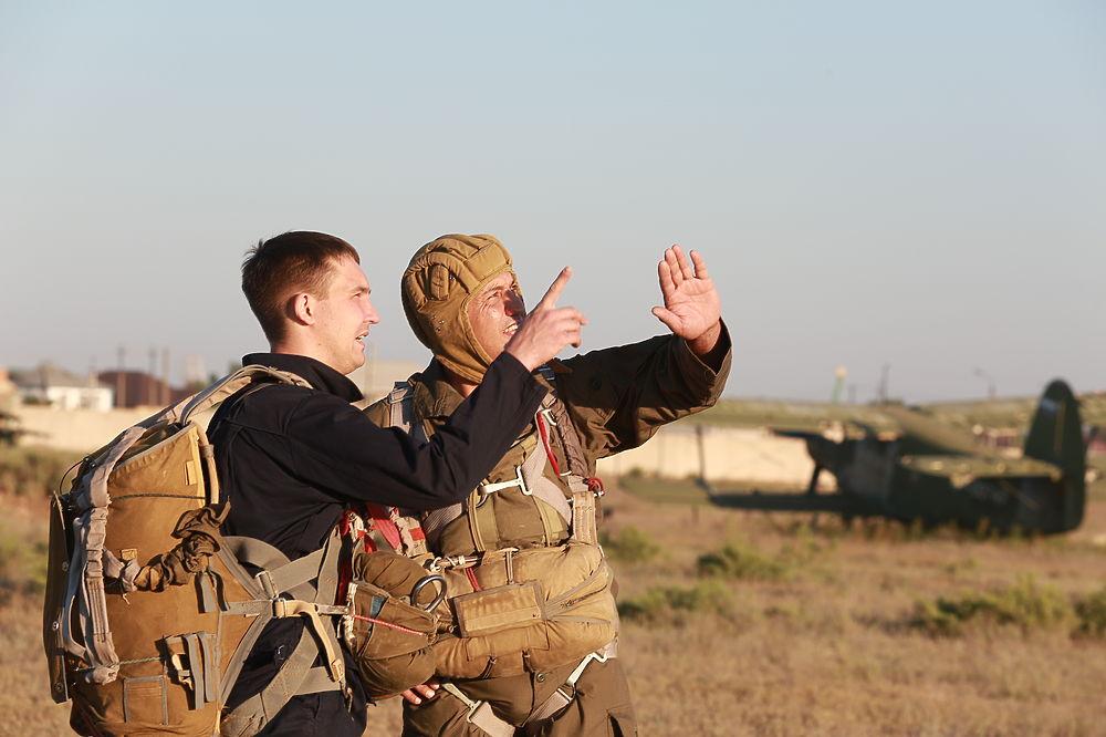 Астраханские десантники начали отмечать День ВДВ в пять утра