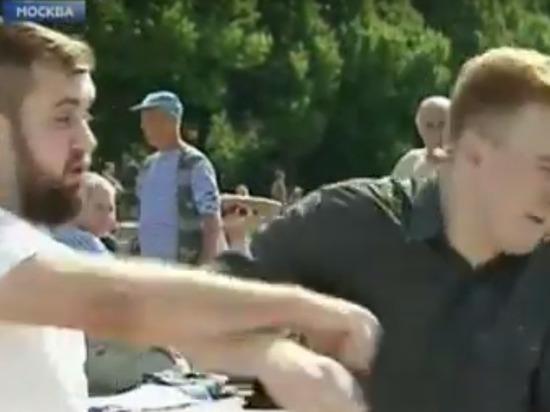 Оператор НТВ объявил кричавшего «Украину захватим» драчуна сторонником Украины