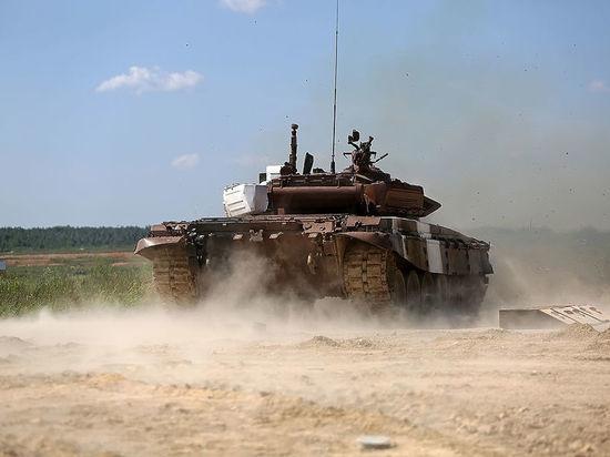 Российский экипаж установил рекорд на «танковом биатлоне»