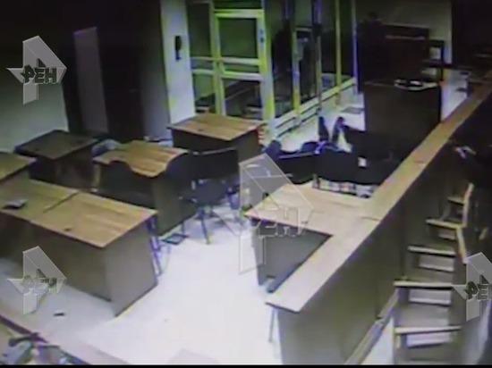 Появилось видео ликвидации членов «банды ГТА» в здании Мособлсуда