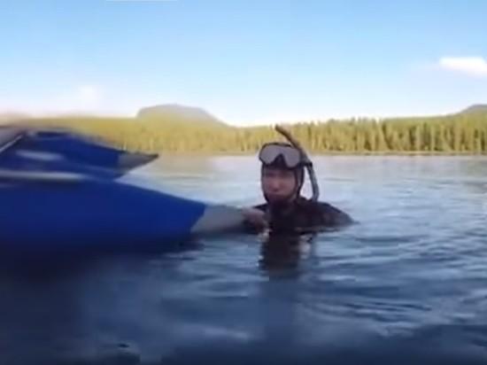 Как Путин скамерой GoPro щуку перехитрил— Президентский улов