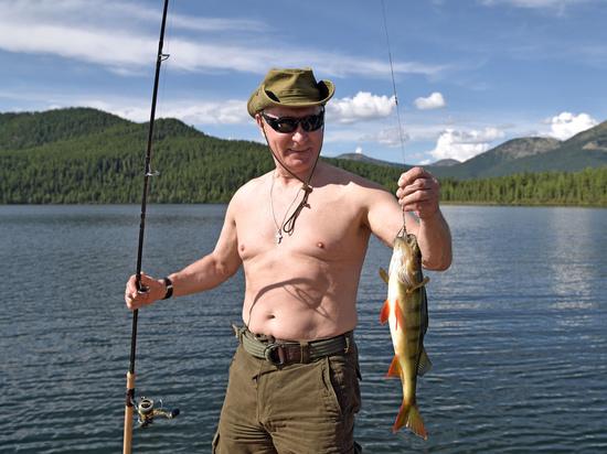 Рыболовный анонс предвыборной кампании Путина: голый торс для избирателей