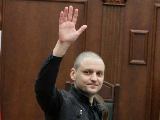 Осужденный координатор «Левого фронта» Сергей Удальцов вышел насвободу