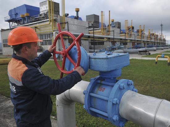Запасы газа вукраинских хранилищах возросли до13,4 млрд кубов