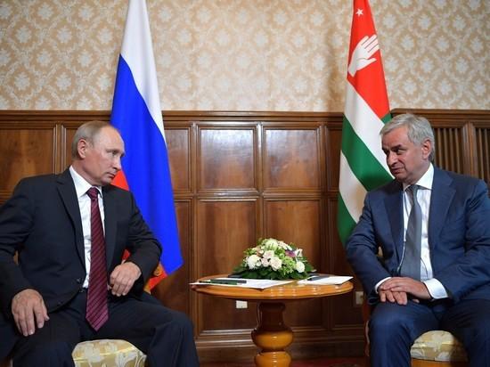 В годовщину грузино-российского конфликта Путин вновь навел порядок в Абхазии