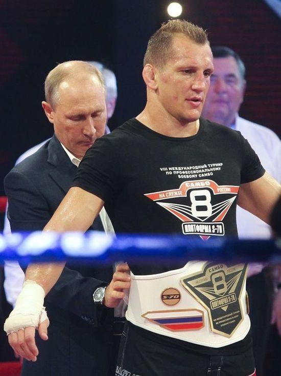 Ночью и при жаре: боец Василевский развеселил Путина в Сочи