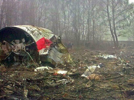 Специалисты  отыскали  следы взрыва насамолете Качиньского— трагедия  под Смоленском
