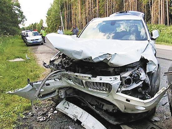 ВМосковской области завыходные вДТП погибло 10 человек