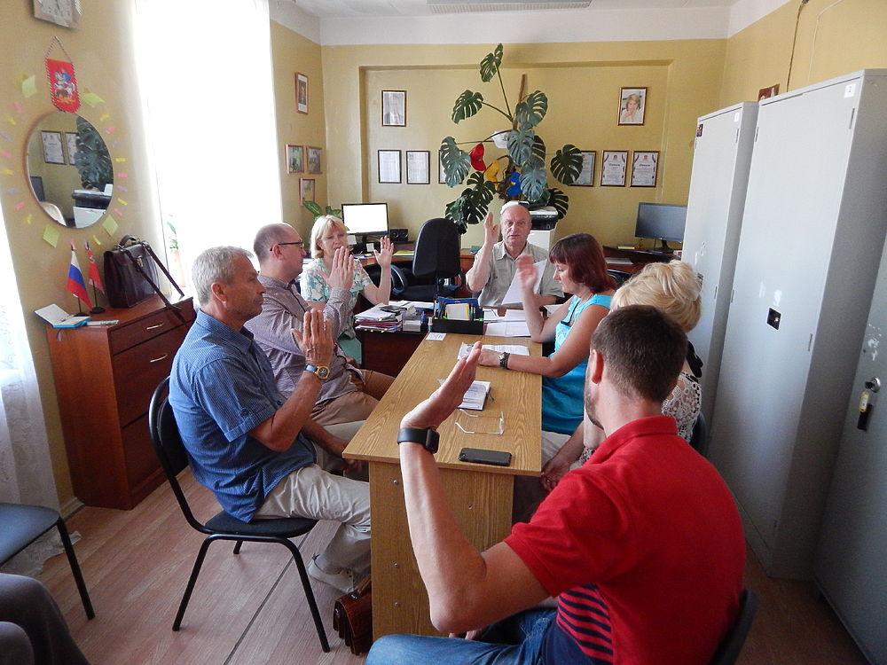 Заседание ТИК прошло в Протвино