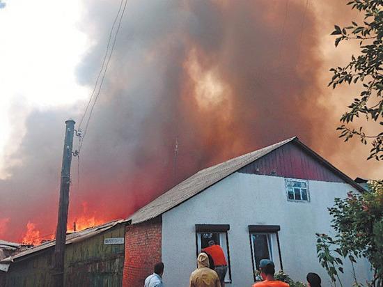 В Ростове-на-Дону сгорел целый квартал, пострадали десятки людей